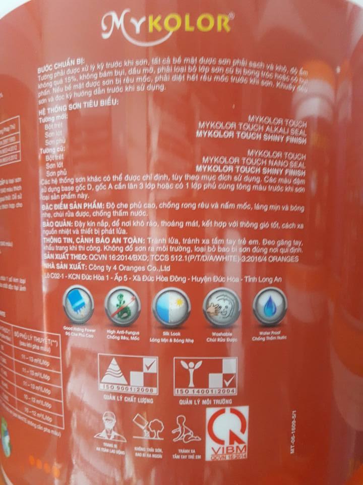 hướng dẫn sử dụng sơn mykolor