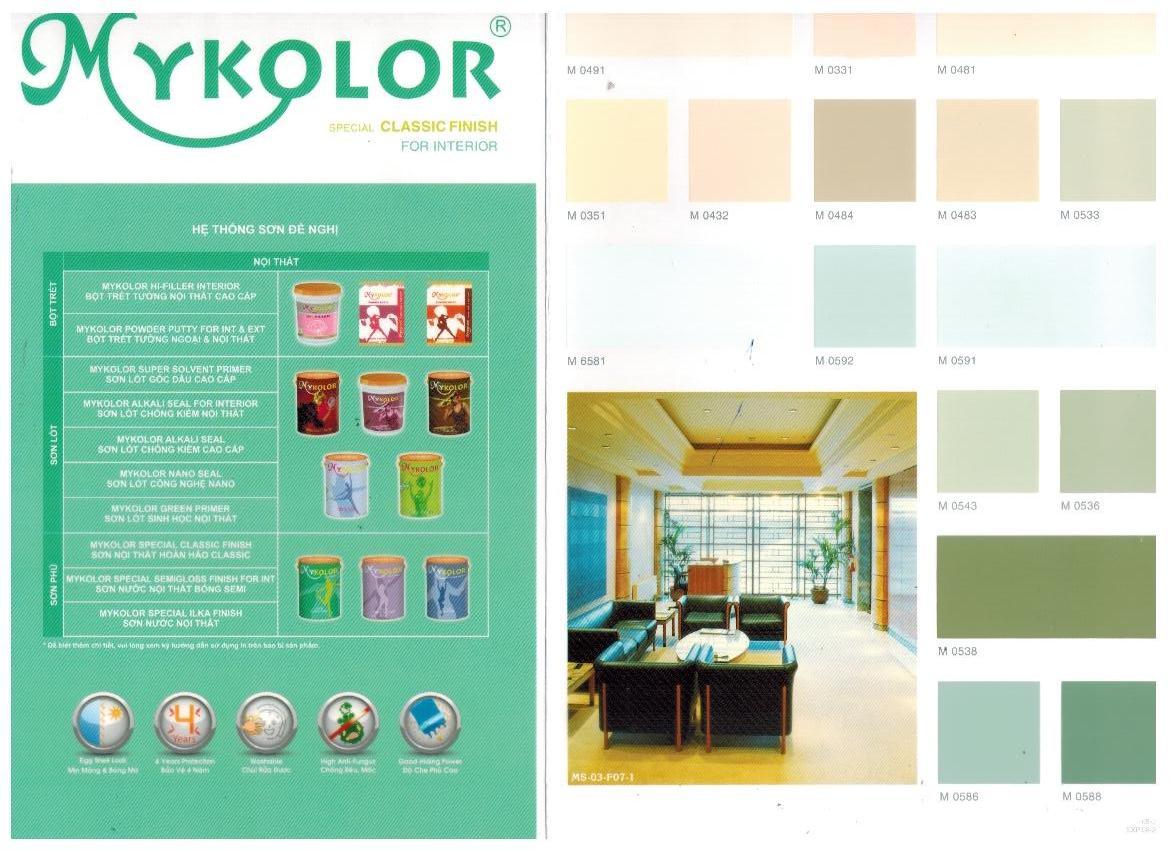 Màu sơn Mykolor Classic Finish