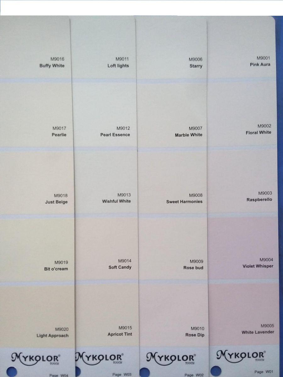 Sơn Mykolor màu trắng sứ