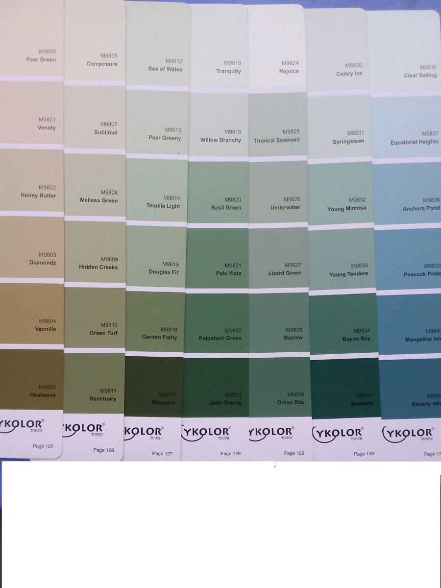 màu xanh dương của sơn mykolor