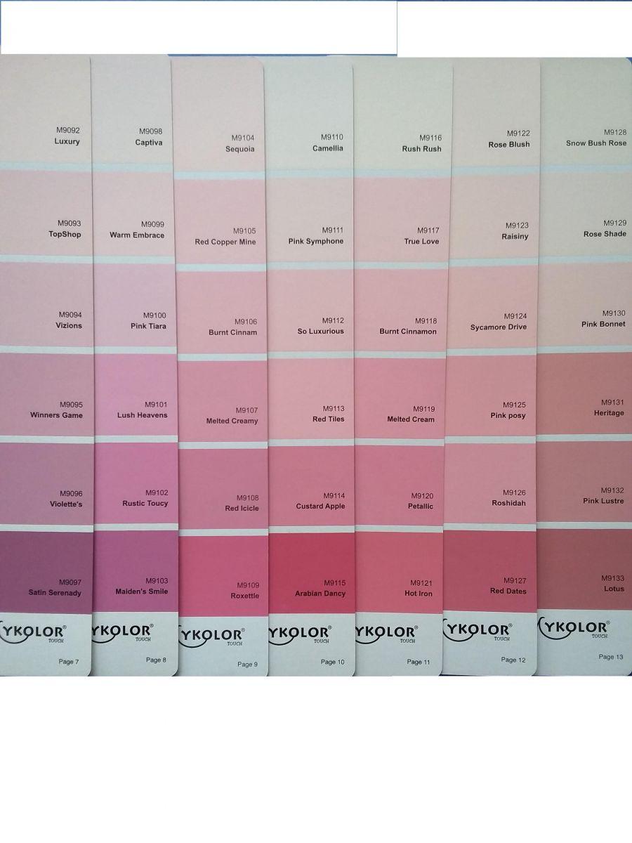 Sơn Mykolor màu hồng
