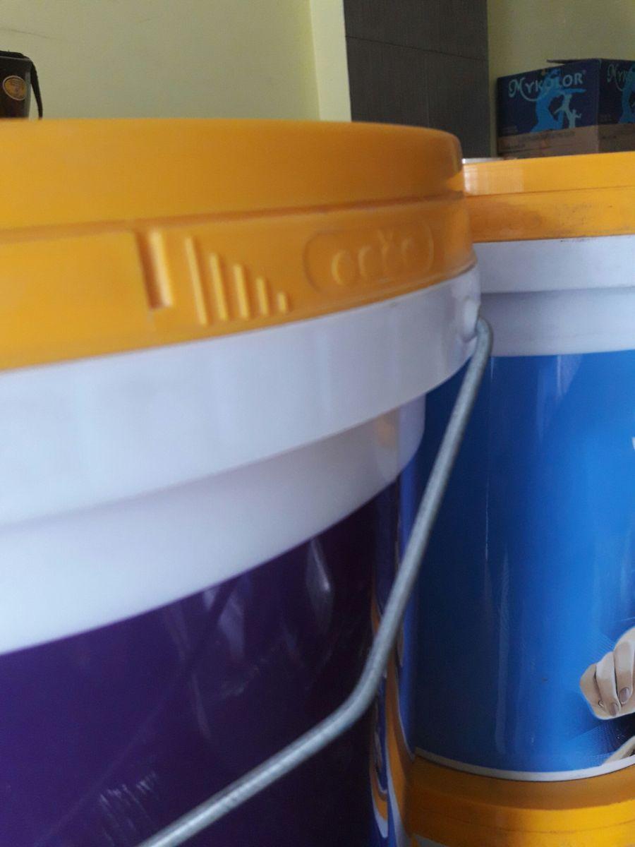 Nắp thùng sơn mykolor thật