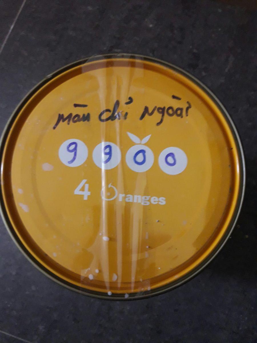ghi mã số màu Mykolor trên nắp
