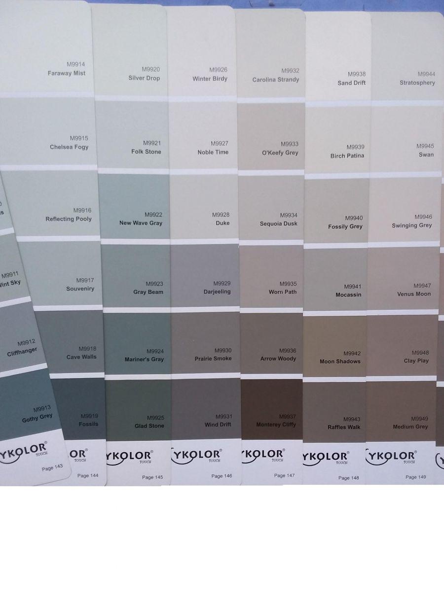 Màu sơn Mykolor xanh nâu