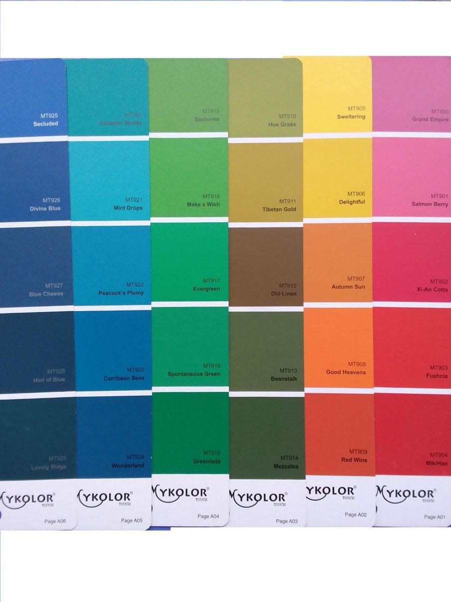 Những màu nhấn đặc biệt của sơn Mykolor