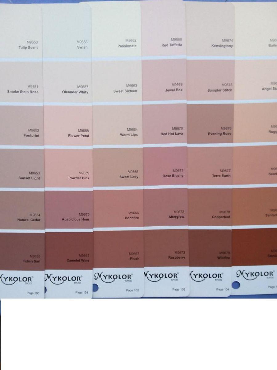 Sơn Mykolor màu hồng phấn